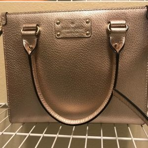 Kate Spade handbag, rose gold